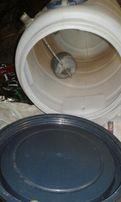 Ёмкость пластиковая бочка на 40 литров под летний душ