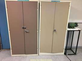 2 Door Steel Stationary Cabinets (1.8m x 1.15m) in excellent condition