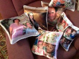 Печать на подушках , фото на подушках , печать на подушке