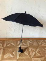 Зонт синего цвета на детскую коляску