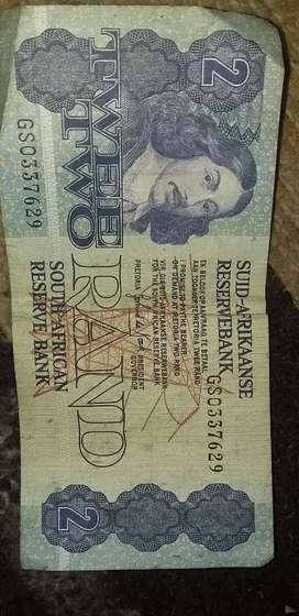 Old notes and coins