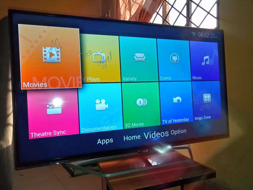 """Smart TCL 40"""" Tv, with WiFi Direct 0"""