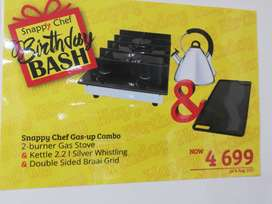 Snappy Chef Gas-up Combo