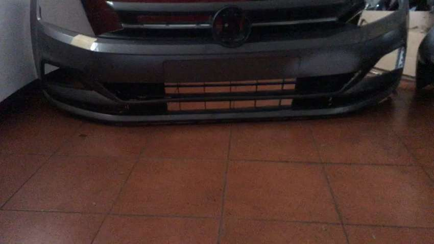 polo 8 front complete bumper