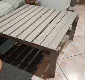 Wide table with 2 Benches