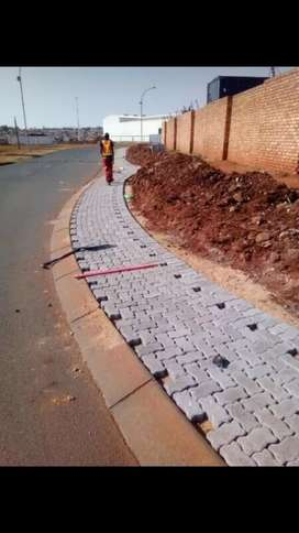 Drive ways Parking bays brick paving
