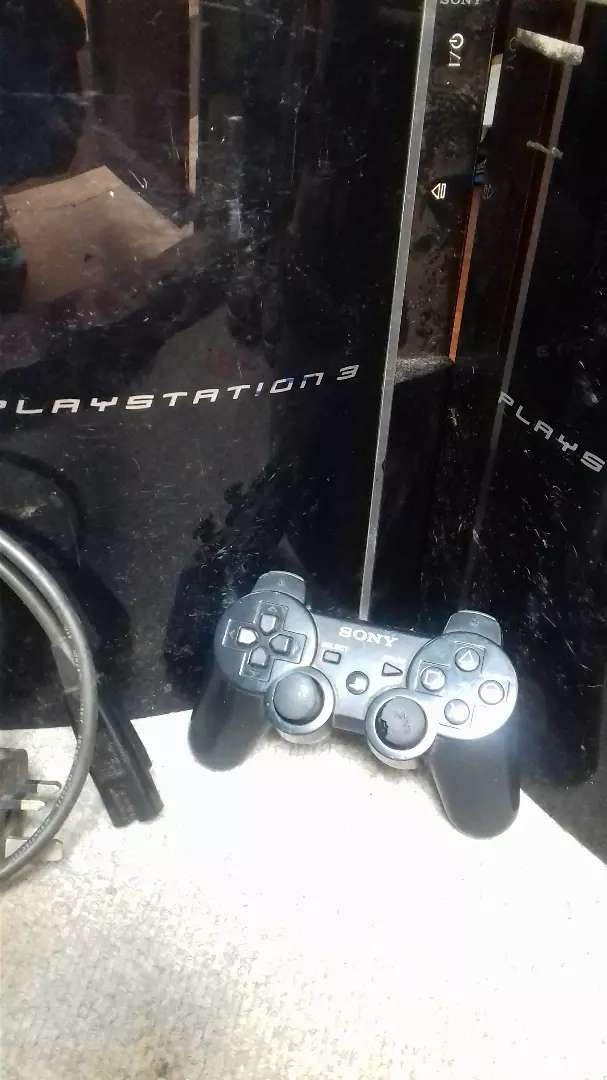 Ps3 fat 80gb hard disk 1pad 0