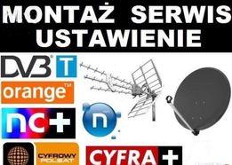 Montaż I ustawianie sygnału anten Elbląg, Pasłęk,Małdyty, Zalewo Morąg