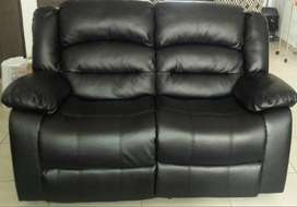1x Two seater recliner couches