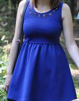 Chabrowa sukienka Mohito r. XS Stan idealny!