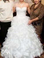 Свадебное платье новое! СРОЧНО!