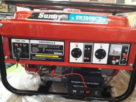 3.3kva,3500CX Sunny Key Start Generator for R5200 brand new Negotiable