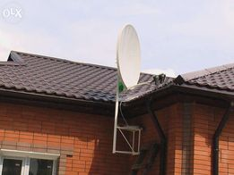 Ремонт и установка спутниковых антенн в Макеевке. Прошивка тюнеров.
