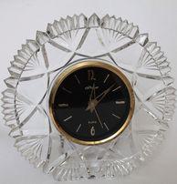 Часы настольные-настенные в хрустальном обрамлении кварцевые Маяк