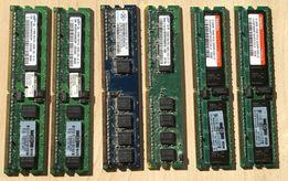 Pamięci SAMSUNG HYNIX NANYA DIMM DDR2-667 (~1GB) oraz DDR2-400 (~2GB)