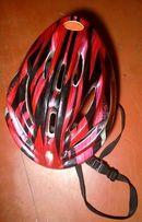 Каска - Шлем защитный с регулировкой размера для роликов и велосипеда.