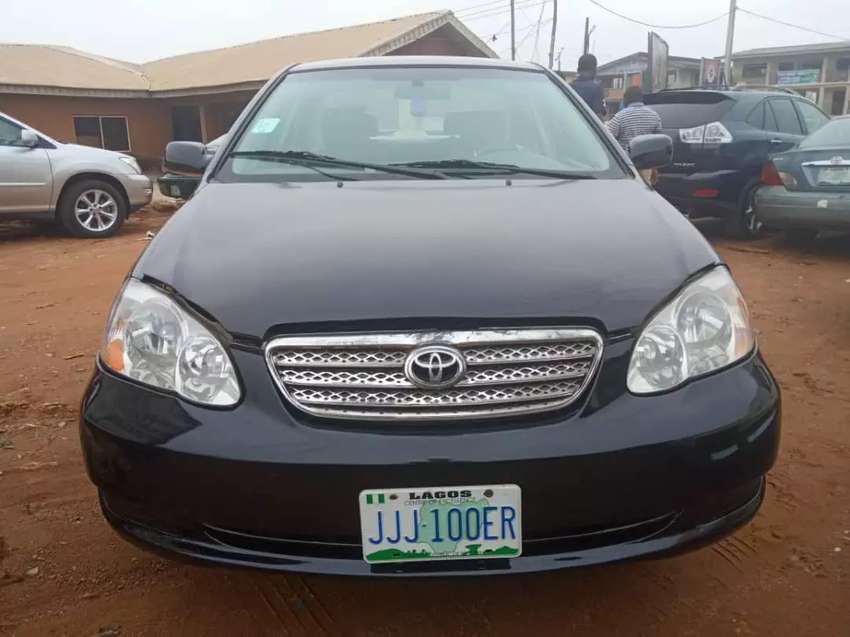 NEATLY USED TOYOTA COROLLA FORSALE 0