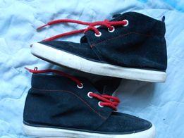 Замшевые ботинки Mango Kids 32р