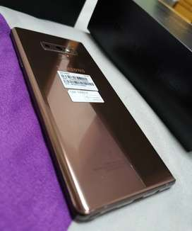 Samsung galaxy note 9 128gb box and charger