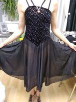 Американское бальное платье конкурсное для танцев р-р S 42