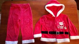 Новогодний костюм 1-3 года (костюм Деда Мороза, Санта Клауса)