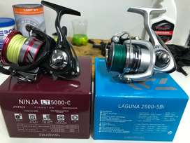 Fishing reel services