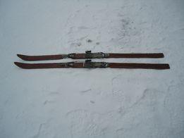 narty zjazdowe drewno - antyk 180 cm