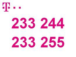 2 karty SIM T-Mobile o ładnych złotych numerach
