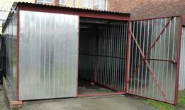 Garaż blaszany 2,5x4 schowek garaże blaszaki - Dostawa Montaż Gratis
