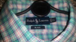 Koszula męska długi rękaw kratka Ralph Lauren rozm.XL