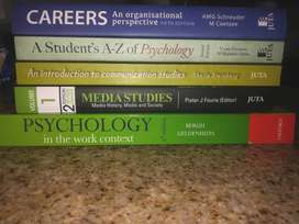 UNISA Textbooks- Psychology and Communication