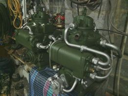 Компрессор высокого давления к2-150 для закачки метана, воздуха.
