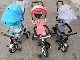 New 3in1 Tricycle with Sunshade R995