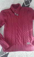Продам мужской свитер с воротником