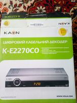 Ресивер цифрового телевидения Каон К-Е 2270СО Воля
