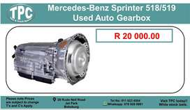 Mercedes-Benz Sprinter 518/519 Used Auto Gearbox For Sale.