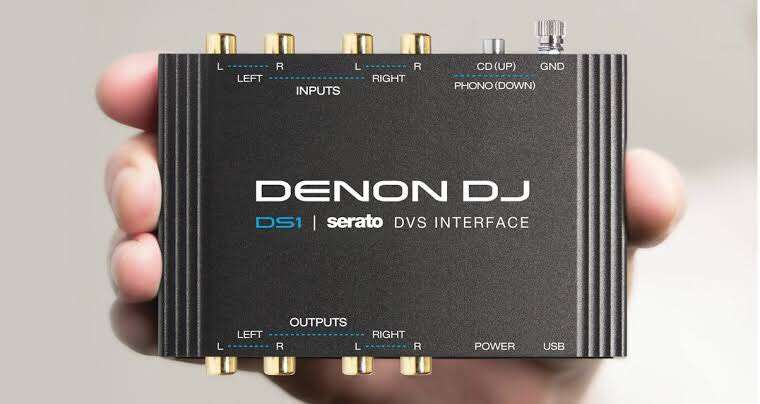 Denon DS1 Serato Digital Vinyl Audio Interface 0