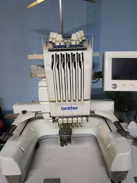Brothers Pr620 6 needle embroidery machine