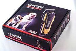 Машинка-триммер для стрижки животных Gemei 6063. Собак, котов