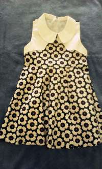 Image of Floral dress for 3 to 4 yrs