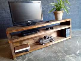 Custom built Tv stands on request.