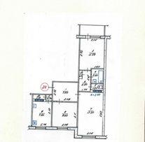 Продам 3-х комнатную квартиру в новом районе Алчевска