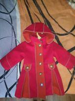 Продам кашемировое детское пальто б/у