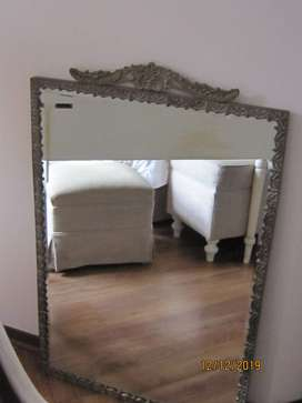 Brass mirror solid