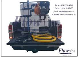 1000L NEW WATER TANK BOWSER / FIRE FIGHTER 2.5-9BAR - MOBILE BAKKIE TA