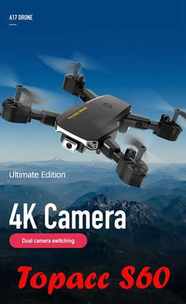 New S60 Mini Drone WIFI FPV with 4K HD Camera with 3 batteries