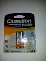 Аккумуляторы AAA Camelion 1000 mAh