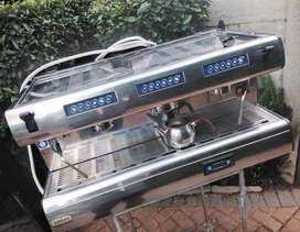 Industrial Expresso Coffee Machine. Hotel, Restaurant, Catering