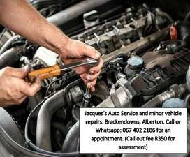 Jacques Auto Service and minor Vehicle Repairs