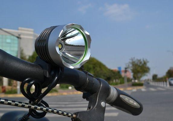 Вело фара USB 5 цвет CREE XM-L T6 LED 500Lm велосипед велофара фонарь Черкассы - изображение 5